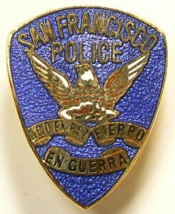 Police San Francisco Lapel Pin Vintage #10288