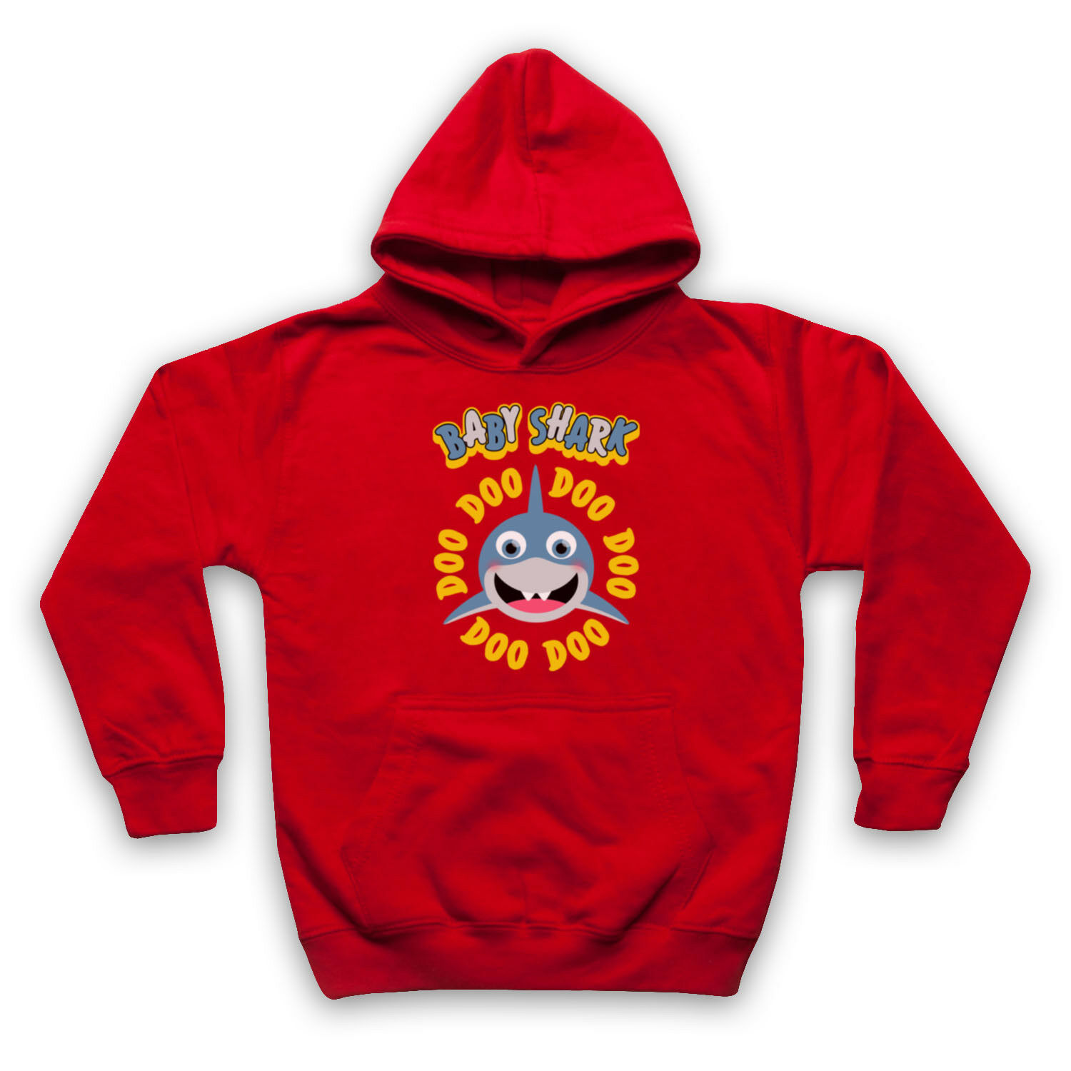 BABY SHARK DOO DOO DOO UNOFFICIAL UNOFFICIAL UNOFFICIAL KIDS SINGALONG SONG ADULTS KIDS HOODIE 28a5df