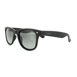 Polaroid Sunglasses PLD 1016 S DL5 LB Matt Black Green Gradient ... bfd5fc3c2e72