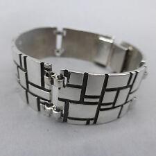 Schönes Schmuck- Design der 70er - 80er Jahre, Armband, Silber 835,