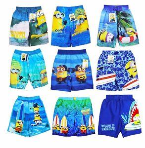 Genieße den niedrigsten Preis UK-Shop das billigste Details zu NEU Minion / Minions Jungen Shorts / Badeshorts / Hose /  Badehose - Gr. 92 - 164