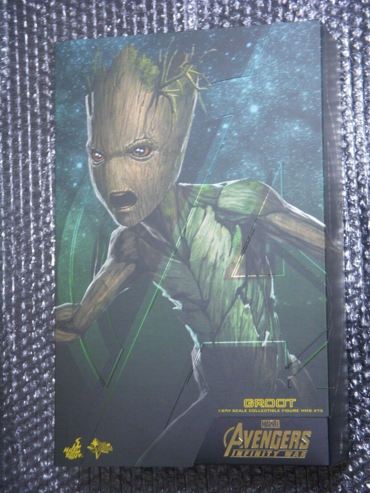 HOTTOYS Figure Movie Masterpiece Avengers Infinity War GROOT 1 6 Scale