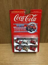 VINTAGE 1980's Coca Cola Micro Machines Tiny Tuffs Collectible Rare Eighties Toy