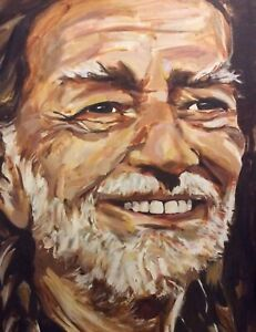 autographed-by-Willie-Nelson-original-painting