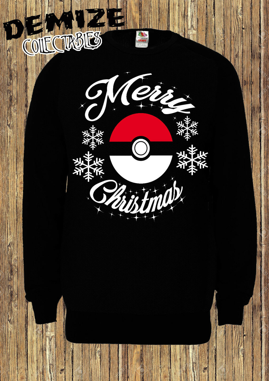 Pokemon Christmas Jumper Unisex Merry Christmas