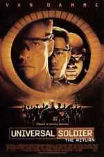 Universal Soldier 4 The Return Poster 01 A3 Box Canvas Print