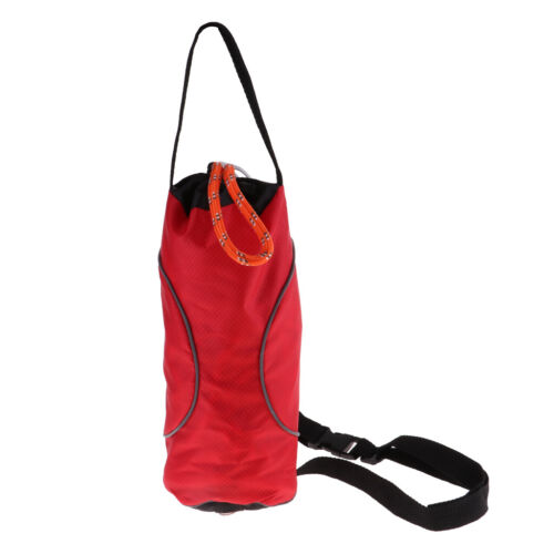 Water Rescue Safety Throw Bag Fishing Boat Safety Rope Bag Easy to Identify