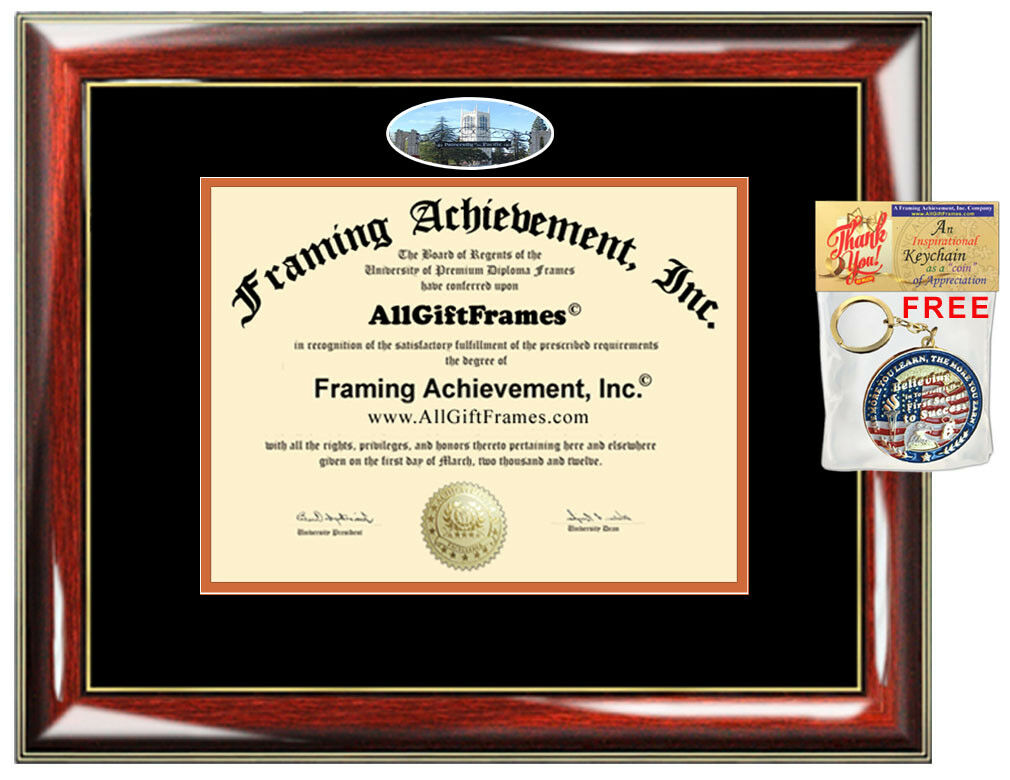 University of the Pacific Diploma Frame campus photo College Degree Framing Gift