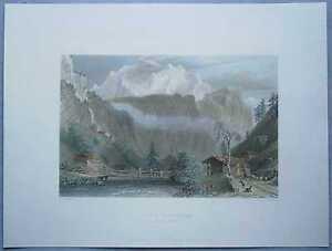 1835-Bartlett-print-JUNGFRAU-BERNESE-OBERLAND-SWITZERLAND-79