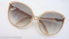Safilo Sonnenbrille Damen mit extrem großen Gläsern 70er angesagter Trend NEU