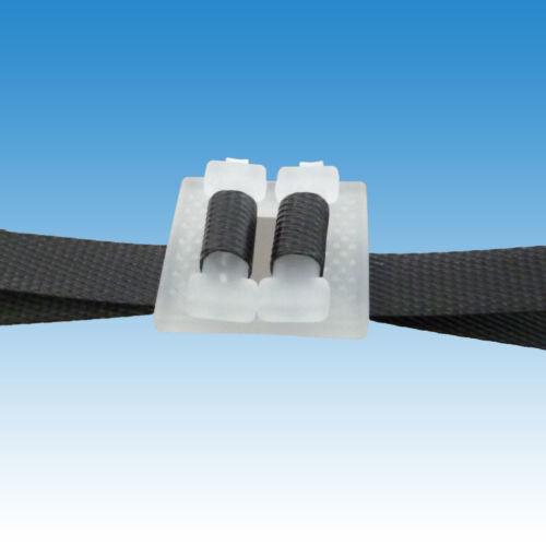 Kunststoff Klemmen 500 Kunststoffklemmen 13 mm für PP und PET Umreifungsband