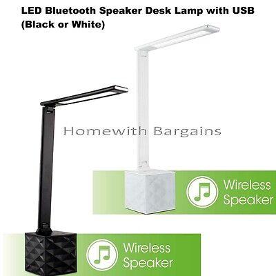 Ottlite Led Bluetooth Speaker Desk Light Lamp With Usb