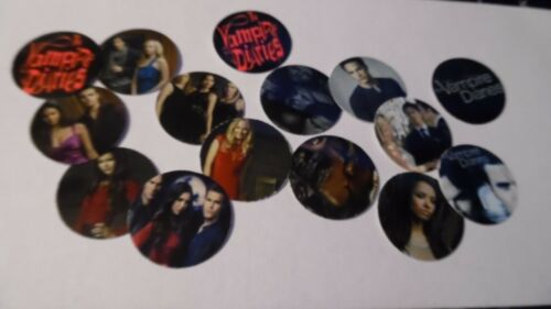 Pre Cut One Inch Bottle Cap Images VAMPIRE DIARIES Free Ship
