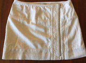 COUNTRY-ROAD-BNWT-Cream-Textured-Cotton-Zipper-Wrap-Front-Mini-Short-Skirt-10