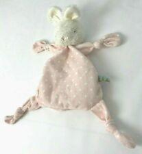 "18/"" NWT Carrots Bunnies by the Bay Blue Polka Dot Bunny Rabbit Security Blanket"