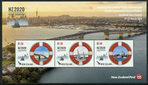 New-Zealand-NZ-Bridges-Stamps-2020-MNH-Maritime-NZ2020-Exhib-Architecture-3v-M-S