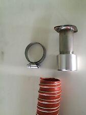 """Honda EU6500is & EU7000is Inverter Generator 1-1/2"""" exhaust extension (2 foot)"""