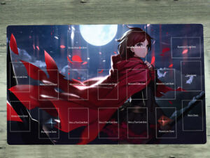 NEW Yu-Gi-Oh Anime Azur Lane Playmat Atago Takao TCG CCG Yugioh Game Mat Bag