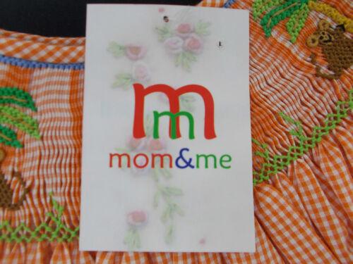 Toddler Infant /& Girls Mom /& Me Assorted Hand Smocked Dresses Size 9Months 8
