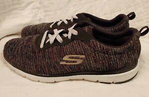 Sobretodo America Llevando  Skechers Flex Appeal 3.0 Endless Glamour 13071-BKMT Sparkly Sneakers Sz. 11    eBay