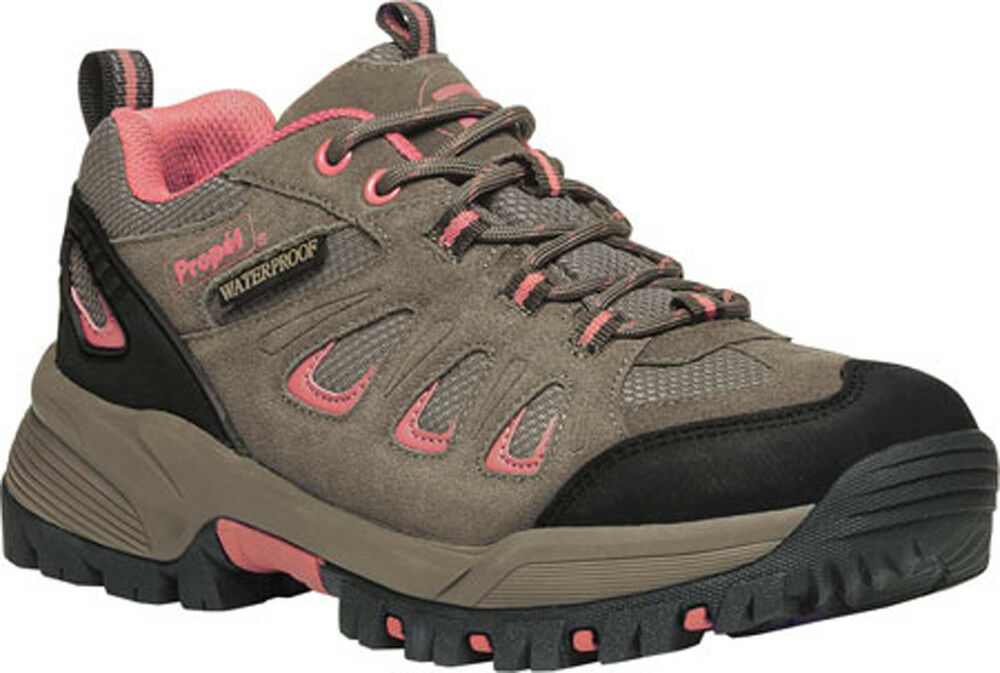 Propet Women's Ridgewalker Low Boot, Gunsmoke Melon, 8 2E