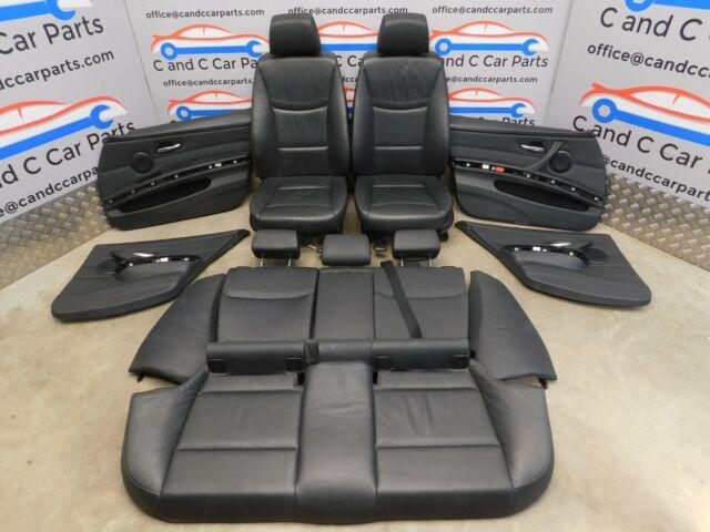 Fantastic Bmw 3 Series Touring E91 Lci M Sport Black Leather Interior Seats Door Cards Machost Co Dining Chair Design Ideas Machostcouk