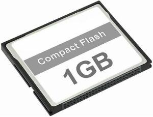 1GB COMPACT FLASH MEMORY CARD DSLR Camera Camcorder (x40 velocità)