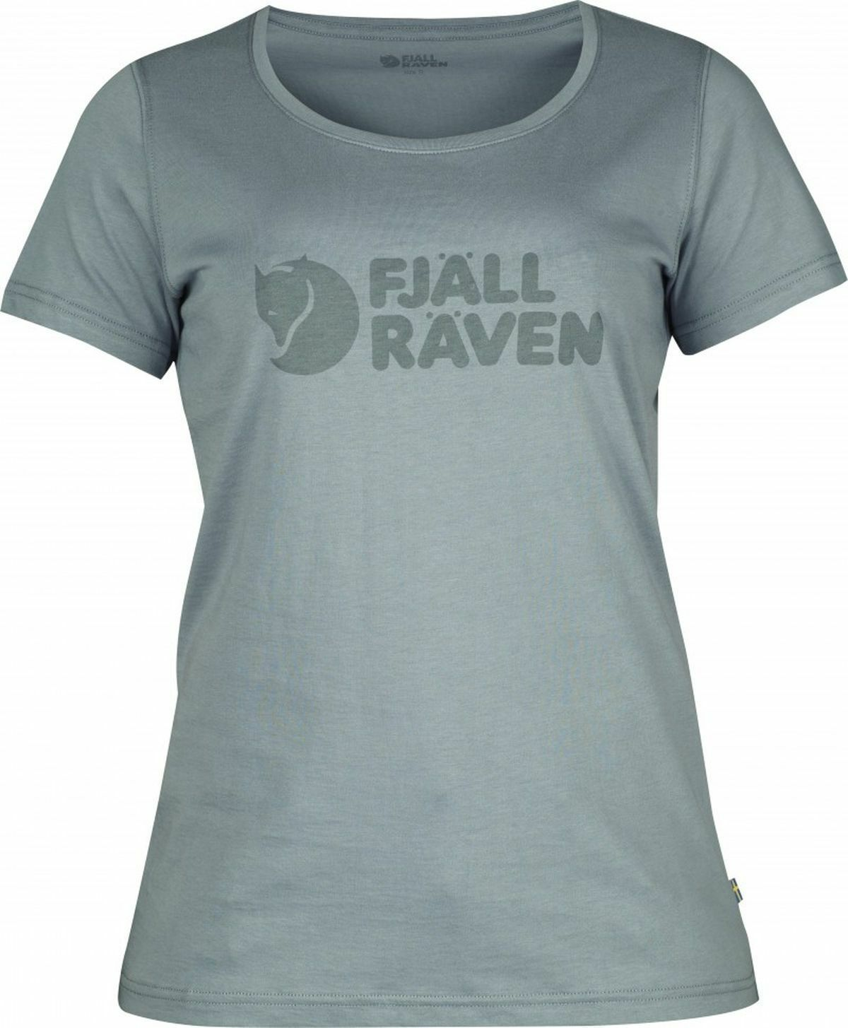 Western Räven Logo T-Shirt, Steel bluee, Size  L, 89572  online shopping sports
