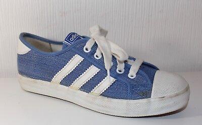 Vintage ADIDAS ADRIA 70er 70s TRUE VTG SNEAKERS Turnschuhe Schuhe SHOES UK3 36 | eBay