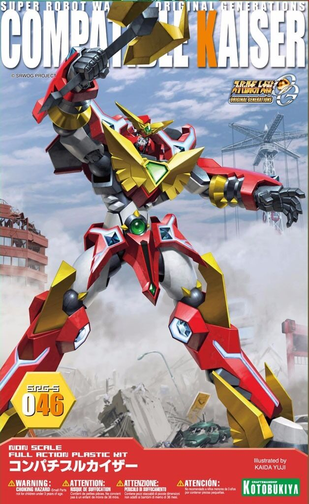 KOTOBUKIYA SUPER ROBOT WARS OG SRG-S 046 COMPATIBLE KAISER Plastic Model Kit NEW