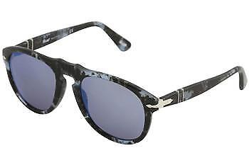 f0a70d062048c Sunglasses Persol Original Po0649 1062 o4 52 Spotted Blue Dark Grey for  sale online