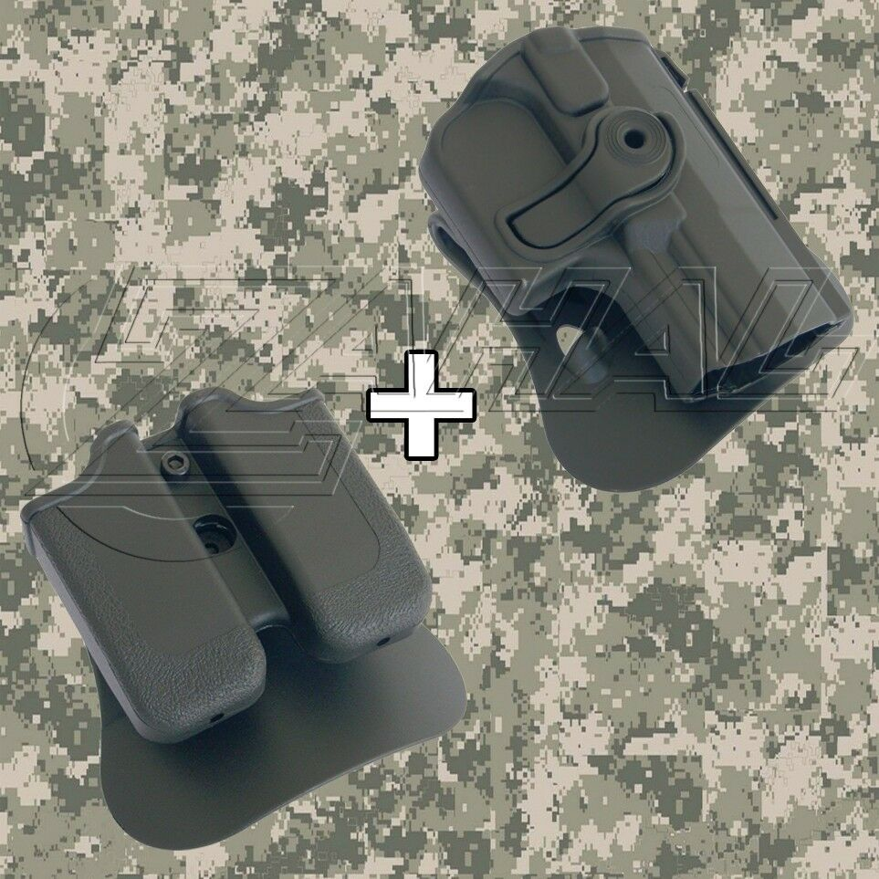 IMI Defense-Walther Ppq rojoo Combo Cartuchera Mag. Bolsa Kit - 1420 mp03