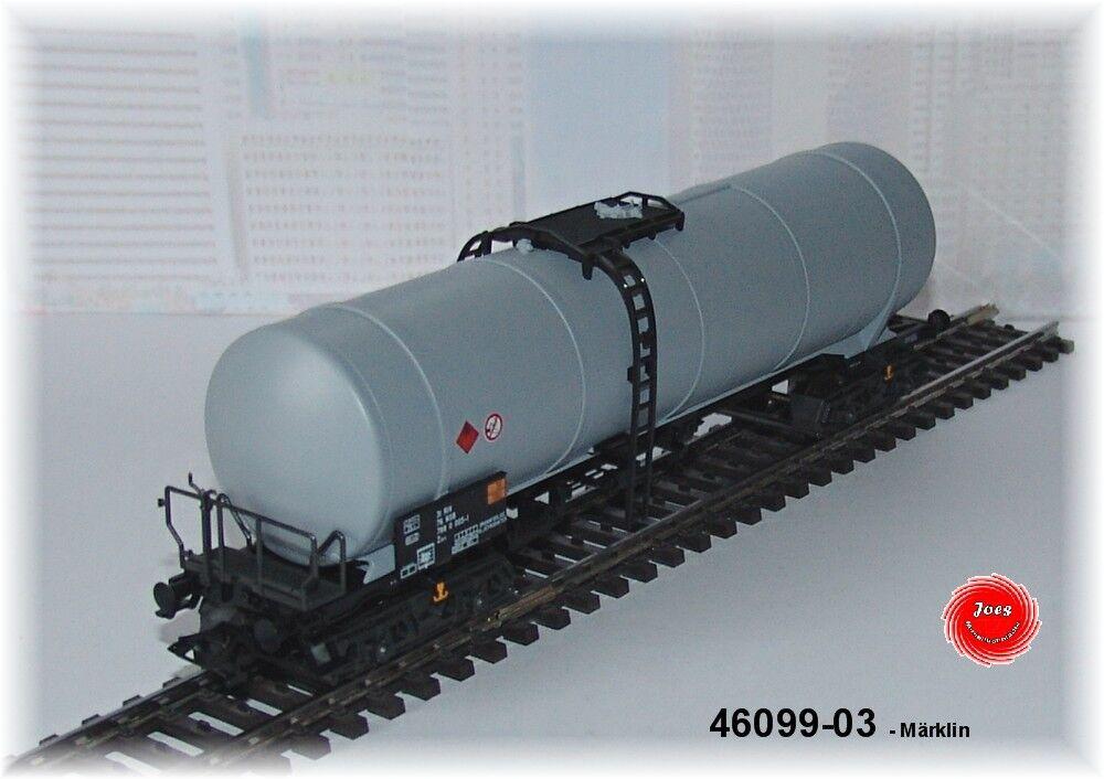 MÄRKLIN 46099-03 EIN Mineralöl-Kesselwagen der NSB 4-achsig  NEU in OVP