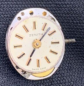 Zenith-Main-Manuel-Vintage-11-7-mm-Pas-Fonctionne-pour-Pieces-Montre-Montre
