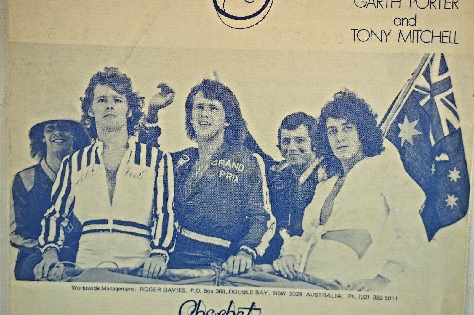 Howzat Sherbet Garth Porter Tony Mitchell Razzle Music 1976 Vintage Sheet Music