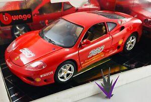 Bburago Ferrari 360 Modena Challenge 1999 1 18 With Box Ebay