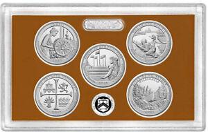 2019-S-Proof-US-Mint-Set-America-the-Beautiful-5-Clad-Quarters-NO-Box-or-COA