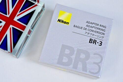 100/% Original Nikon BR-3 Anillo Adaptador