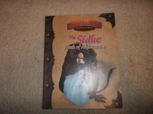 7th Sea RPG Swashbuckling Adventures The Sidhe Book of Nightmares