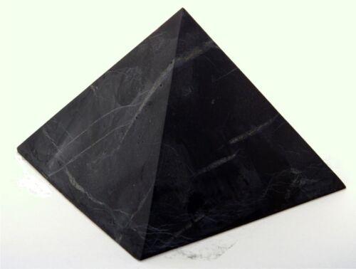 "3 pcs 1.18/"" UNPOLISHED Original Healing Stone Shungite Pyramid 30 mm"