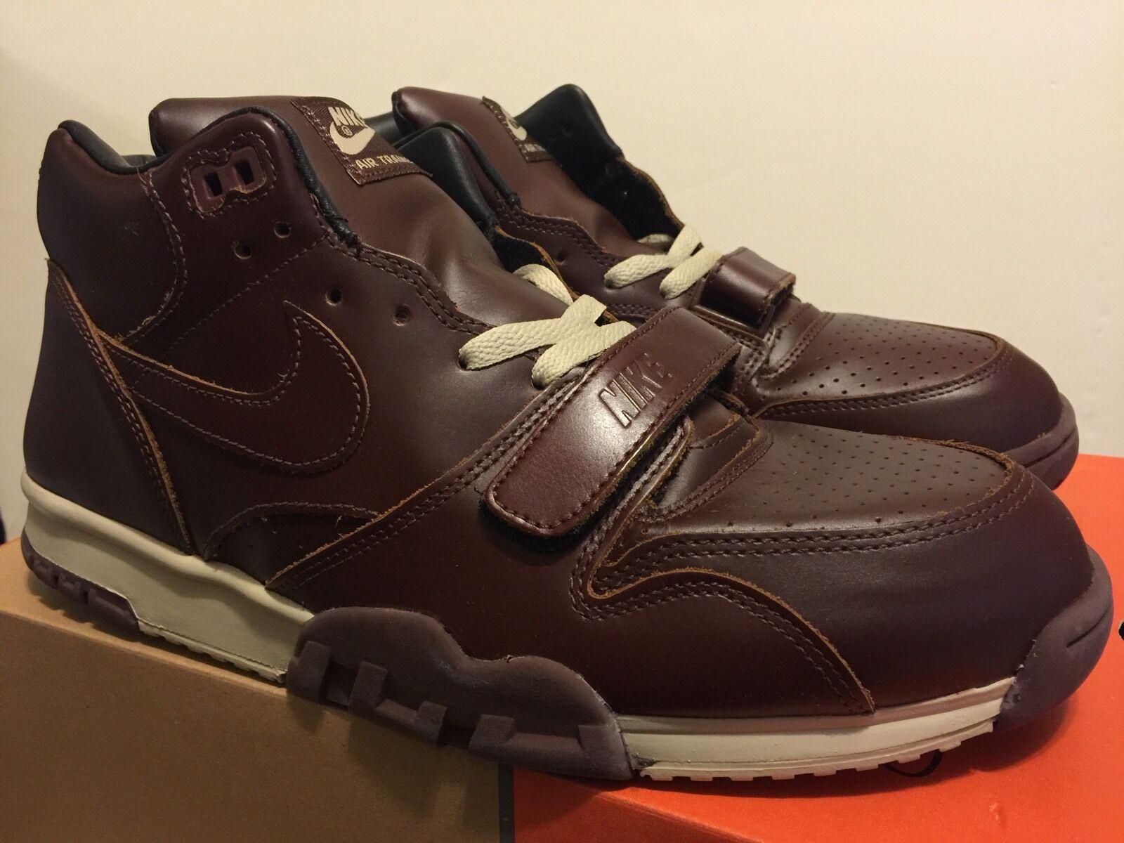 Nike air trainer 1. prämie 2003 brunnet brunnet brunnet / brunnet größe 13 neue ds bekannten leder 01b9eb