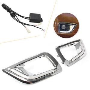 LED-DRL-Fog-Lamp-Daytime-Running-Lights-for-Nissan-Navara-NP300-2015-2016