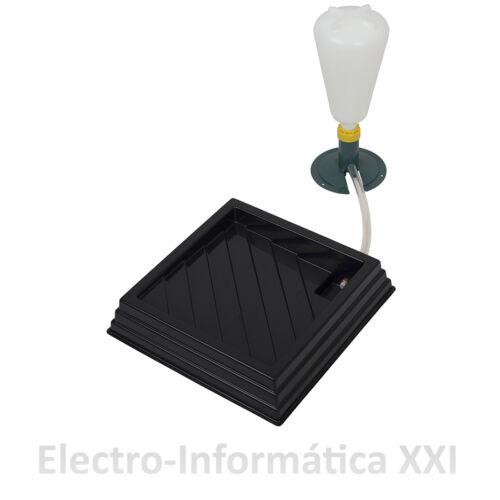 Set de humedad incubadoras Base 30x30cm Depósito Evaporacion humidificacion