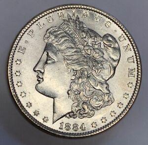 1884 Morgan Silver Dollar XF Philadelphia Mint 8220