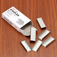 6 boxes of #12 Staples Office & Study Supplies Standard Staples Silver Color