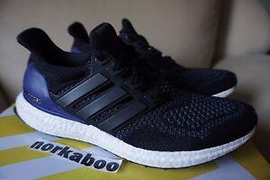 241d9ad01 Adidas Ultra Boost 1.0 OG Core Black Purple B27171 white rare wool ...