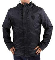 Puma Men's Ferrari Concept Zip Up Waterproof Jacket Vest Set Black 567063 01