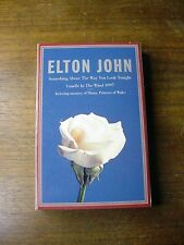 1997 ELTON JOHN MUSIC CASSETTE CANDLE IN THE WIND PRINCESS DIANA TRIBUTE