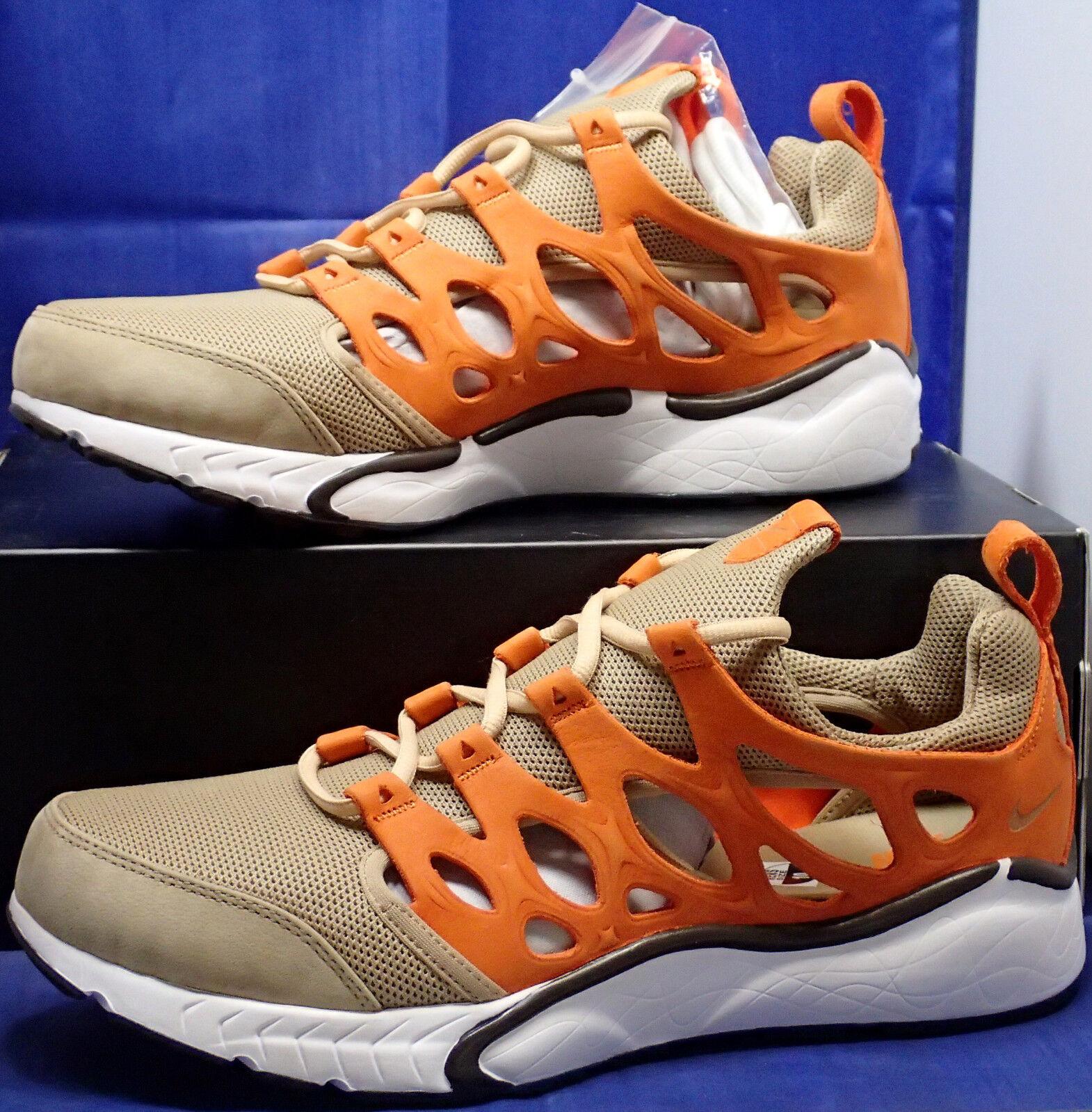 Nike Air Zoom Chalapuka Vachetta Tan Orange White Presto SZ 10 ( 872634-202 ) Scarpe classiche da uomo