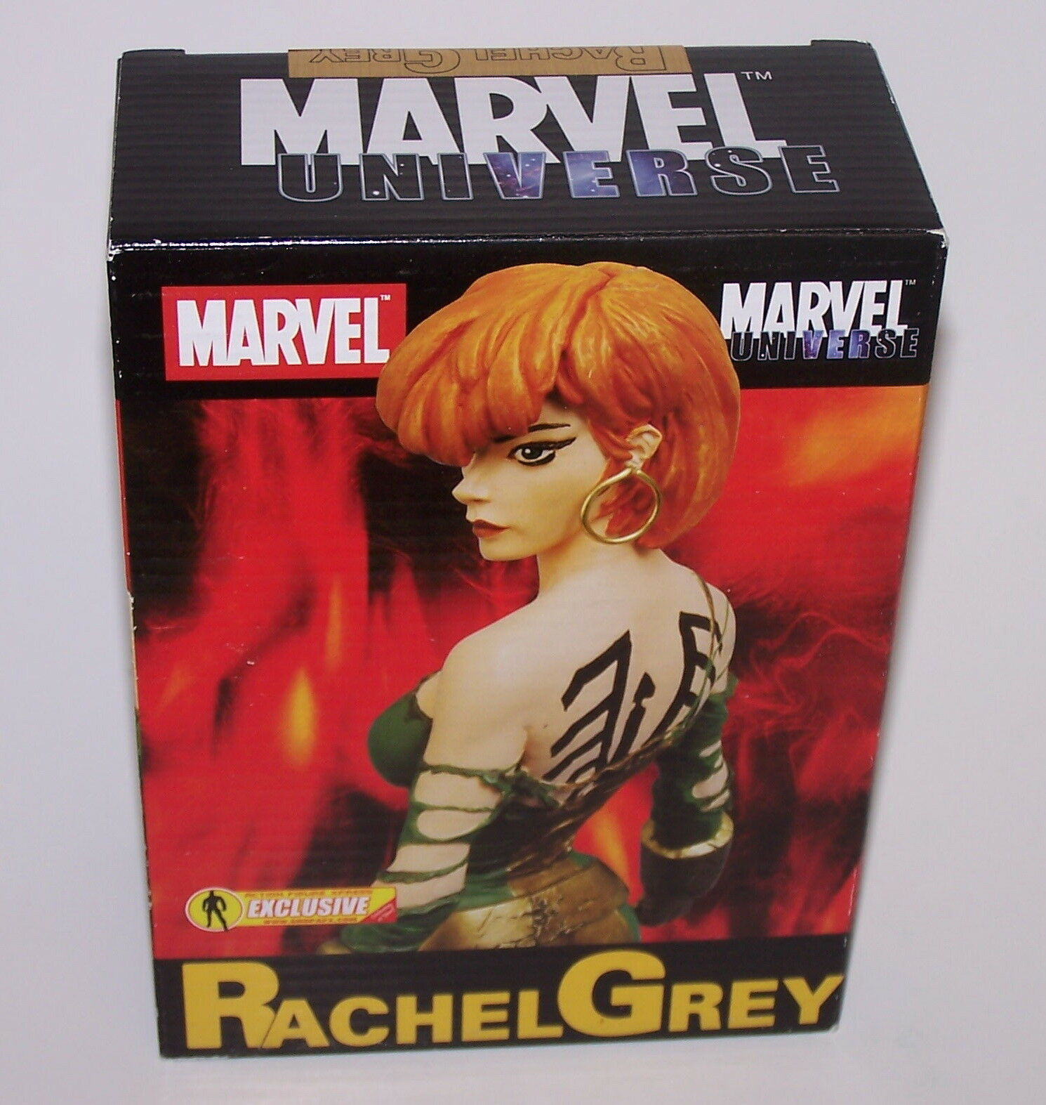 Marvel Universe Rachel Grey Action Figure Exclusive 118 600 Diamond Select 2007